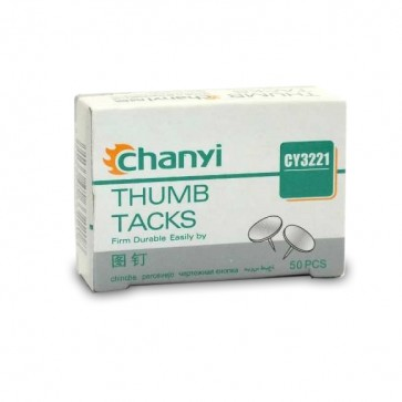 Chanyi 50 Drawing Thumb Pins