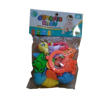 Rattle Set PVP Bag - Baby Rattles - Baby Teether Toys At Stationeryx