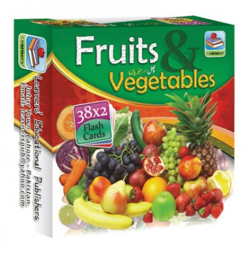 Fruit And Vegetable Flashcards - Flashcards For Kids - Children's Flash Cards