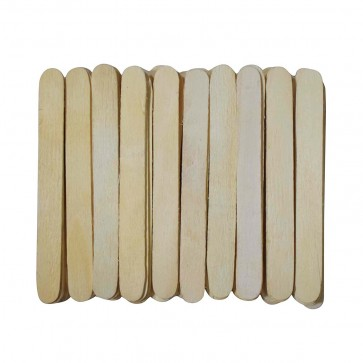 Natural Wooden Ice Cream Sticks Popsicle Sticks Large