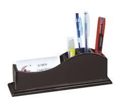 WOODEN PEN STAND RX-8006