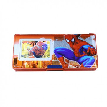 Spider-Man Geometry Box  With Calculator (B-8888)