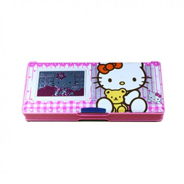 Kitty Geometry Box With Calculator (B-8888)