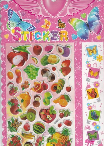 Fruit Mix Stickers