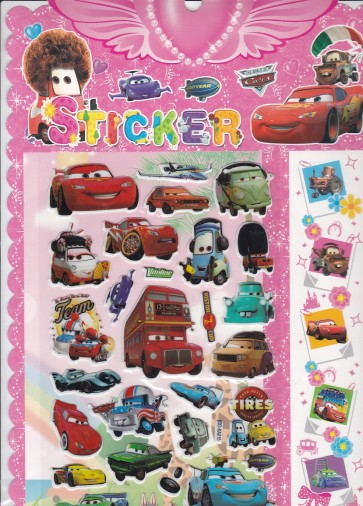 Happy Cars Stickers