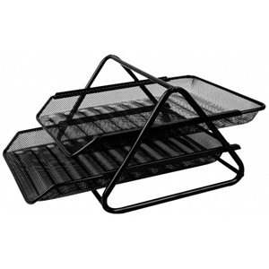 Buy 2 Tier Letter Tray - Mesh Letter Tray Online In Pakistan At Stationeryx.pk