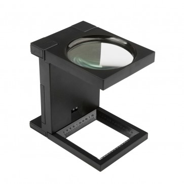 Folding Magnifier With Led Light Magnification 5x