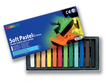 Mungyo Soft Pastels - Pack of 12 - Full Sticks