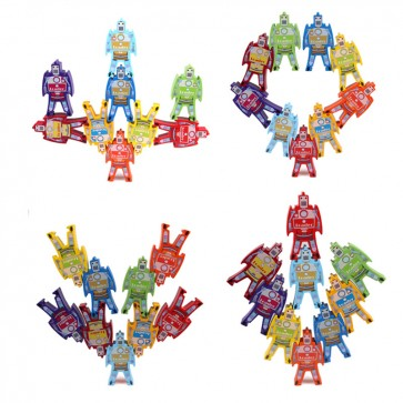 Best Cheap Wooden Stacking Robots - Stacking Robots - Toy Robot - Montessori Toys At Stationeryx.pk