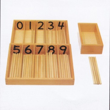 Spindle Box - Spindle Box Montessori At Stationeryx.pk