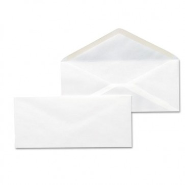 White Envelope 9X4