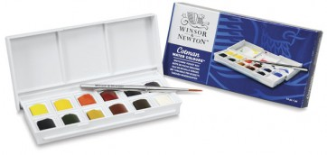 Winsor & Newton Cotman Water Colours - Set of 12