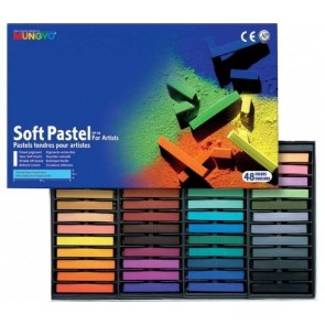 Mungyo Soft Pastels - Pack of 48 Full Sticks