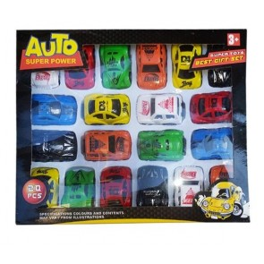 Auto Super Power Toy Cars (pack of 20)