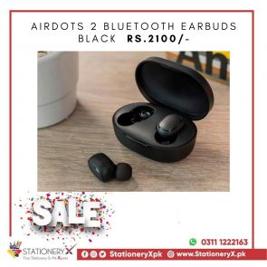 AirDots 2 Bluetooth Earbuds Black