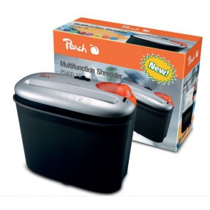 Peach PS400-16 Multifunction Shredder - Black