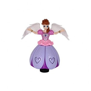 Angel Girl Doll - Angel Girl Dancing With Lights And Music - StationeryX
