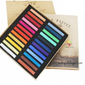 Marie's Soft Pastel Colored Chalk 24pcs