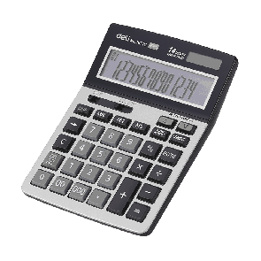 Deli E1671C 150-CHECK CALCULATOR 14-DIGIT METAL 3 Years Warranty