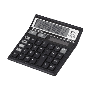 Deli E39231 120-CHECK CALCULATOR 12-DIGIT 3 Years Warranty