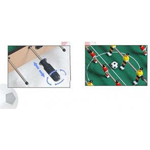 Fantasy Wooden Football/Soccer Game Table, 81x42.5x43.5cm