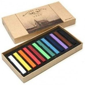 Marie's Soft Pastel Colored Chalk 12 pcs