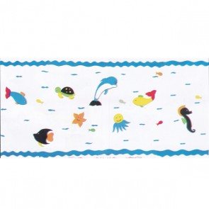 Fish Cartoon Foaming Sheet