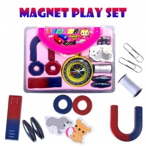 Kids Magnet Set and Magnetic kit with Compass
