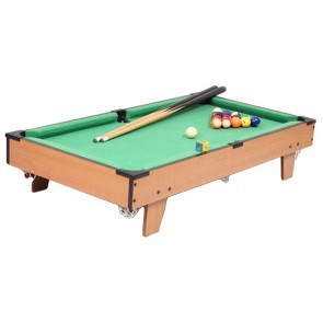 HG202D Kids Pool Table / Billiard Snooker Board Games Size: 69cm x 37cm x 11.8cm