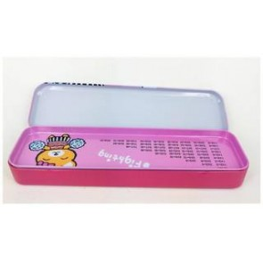 Tin Pencil Box 656
