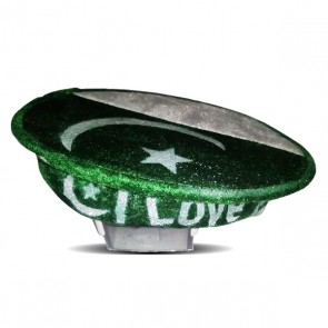 Pakistan Flag Color Cap