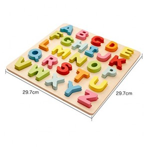 Buy ABCD Capital Letters - Big Wood Letters At Stationeryx.pk