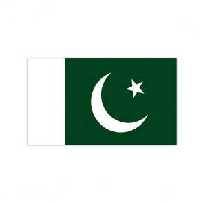 Pakistan Flag Plastic Badge