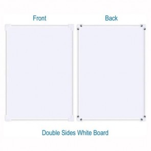 Double Sided Writing and Drawing Board For Kids 25cmx35cm