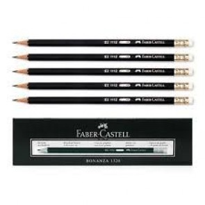 lead Pencil Faber Castell With Eraser 1112 (10 pcs in a Box)