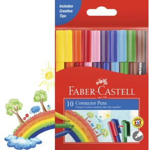 Faber-Castell 10 Connector Pens