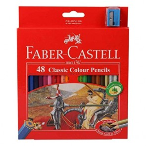 Faber Castell Classic Colour Pencils Box 48