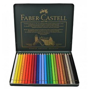 Faber-Castell Polychromos color Pencils (24)