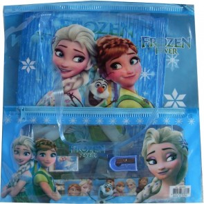 Frozen Hand Bag With Stationery Accessories