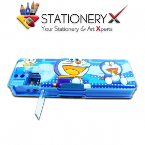 Kids Magnetic Geometry box - Stationery Case - Cartoon Geometry C-5252