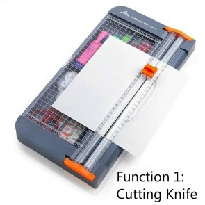 Paper Cuuter - Paper Trimmer - Paper Cutter With Stationery Case