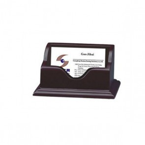 HX-1008 Office business card holder wooden