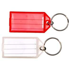 Writable Paper Card Keychain (Single Piece Price)
