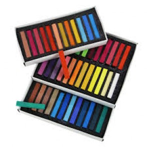 Marie's Soft Pastel Colored Chalk 36pcs