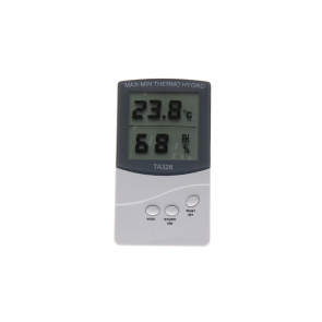 Digital Thermometer - Hygrometer Digital - TA-328 At stationeryx.pk