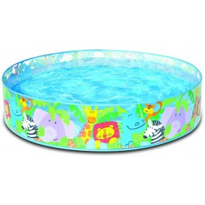 Intex 58474 Happy Animal Clear View Snapset Pool