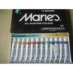 Marie's Oil Color - Pack of 12
