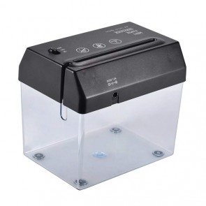A6 USB Mini Small Electric Creative Desktop Paper Breaker Shredder With Letter Opener