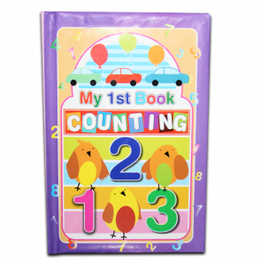 Best Counting Learning Books For Kids - 123 Book