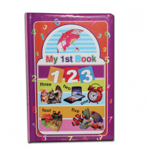 Best Math Learning Books For Kids - 123 Book For Kids